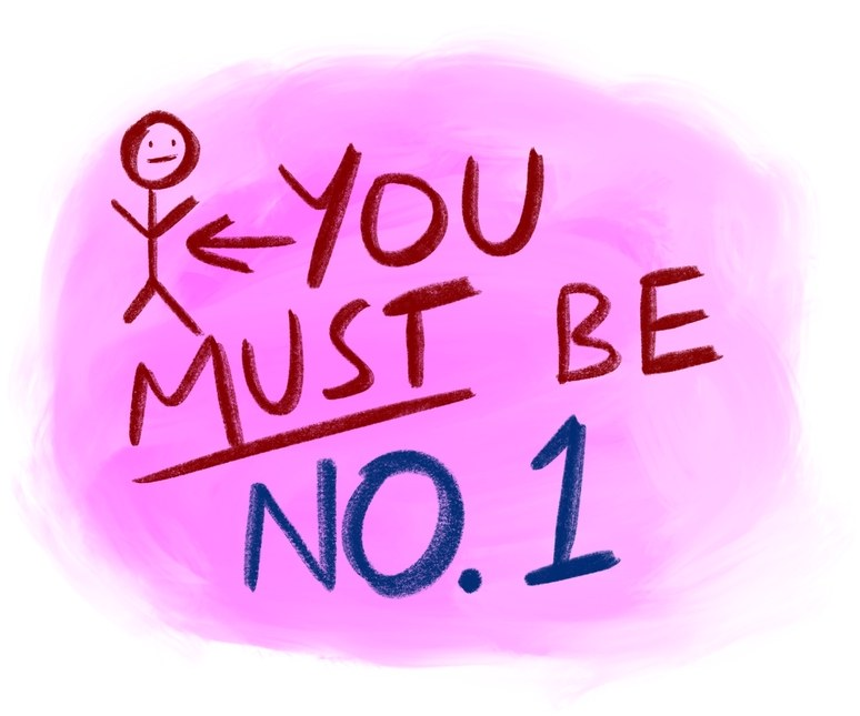 You Must Be No.1